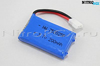 Аккумулятор для SYMA X13 (200мА/ч Li-pol 3.7V)