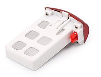Аккумулятор красный для SYMA X5UW, X5UC (500мА/ч Li-pol 3.7V)