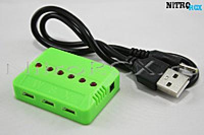 зарядное устройство на 6 акб syma x5s, x5sw, x5sc