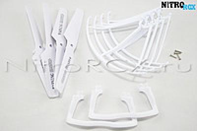 комплект белый syma x5, x5c