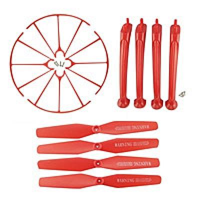 Комплект красный SYMA X5H, X5HW, X5HC