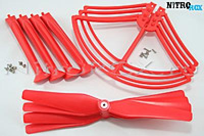 Комплект красный SYMA X8HC, X8HW, X8HG