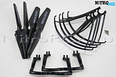 комплект черный syma x5, x5c