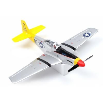 радиоуправляемый самолет art-tech mini-mustang - 2.4g (21133)