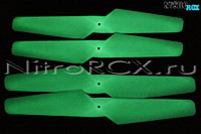 светящиеся лопасти syma x5, x5c