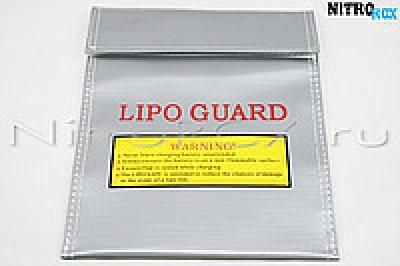 """сумка для хранения аккумуляторов """"li-po guard"""" (220x170 мм)"""
