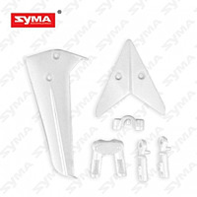 Хвостовое оперение белое SYMA S36-02-A