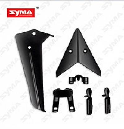 Хвостовое оперение черное SYMA S36-02-B