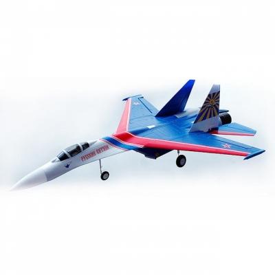 радиоуправляемый самолет art-tech su-27 warrior - 2.4g (2109f с электрическим шасси)