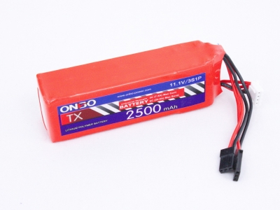 аккумулятор для передатчика 2500mah 3s 11.1v