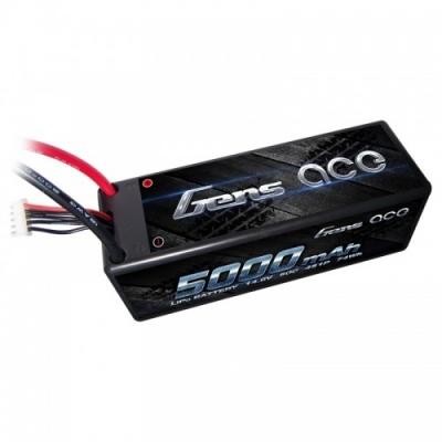 аккумулятор li-po - 14.8в 5000мач 50c серия hobby (4s, t-plug)