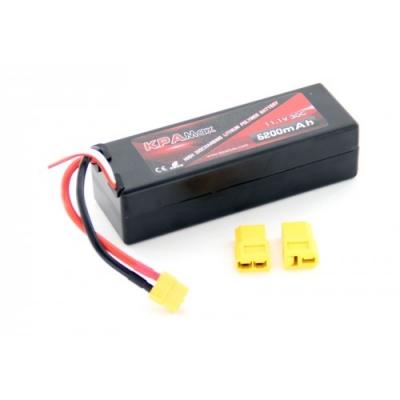 аккумулятор li-po 7.4в 5200мач 30c 3s (универс. разъем)