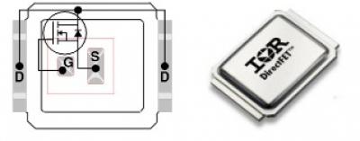 mosfet транзистор irf6710s2