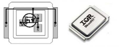 MOSFET транзистор IRF6645