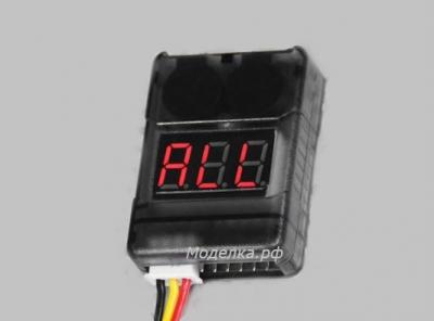 Сигнализатор LiPo/LiFe/LiIon