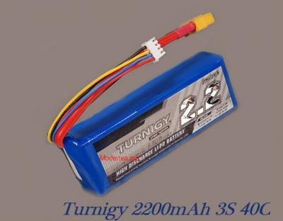 Turnigy 2200mAh 3S 40C
