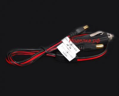 Адаптер в прикуриватель для зарядного устройства.