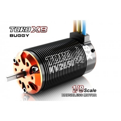 SkyRC 1/8 TORO X8 Buggy BL Motor(2650KV Sensorless)