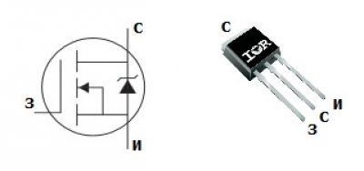 MOSFET транзистор IRLU3110Z