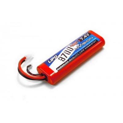 li-po 7.4v(2s) 3700mah 45c tamiya plug hard case