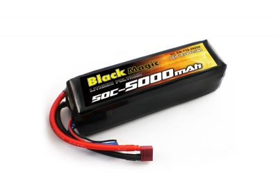 lipo 18,5v(5s) 5000mah 50c deans plug