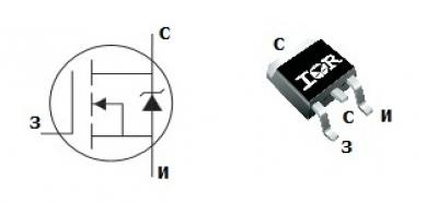 mosfet транзистор irf1010es