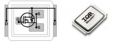 mosfet транзистор irf6607