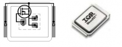 mosfet транзистор irf6633a