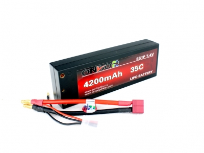 onbo 4200mah 2s 35c car lipo pack