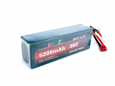 onbo 5200mah 3s 35c car lipo pack