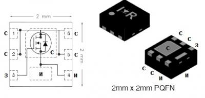 MOSFET транзистор IRFHS8242