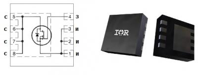 MOSFET транзистор IRFHM830