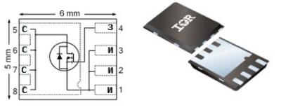 MOSFET транзистор IRFH5015