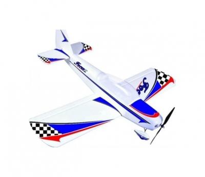 радиоуправляемый самолет dynam focus ep 400 2.4g