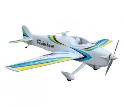 радиоуправляемый самолет nfd rainbow f3a 3d aerobatic blue edition pnp