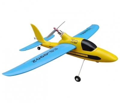 радиоуправляемый самолет easysky sport plane blue yellow edition 2.4g