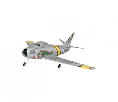 радиоуправляемый самолет e-flite f-86 sabre 15 df arf