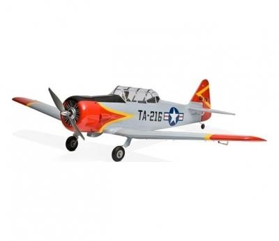 радиоуправляемый самолет e-flite at-6 texan 25 platinum series arf - efl4500