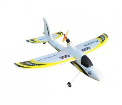 радиоуправляемый самолет easysky sport plane white yellow edition 2.4g