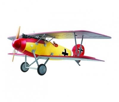 радиоуправляемый самолет dynam albatros world war i 2.4g
