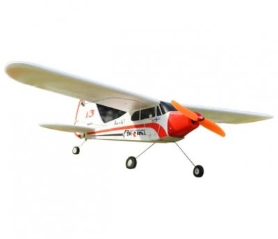 радиоуправляемый самолет easysky piper j3 cub white edition 2.4g