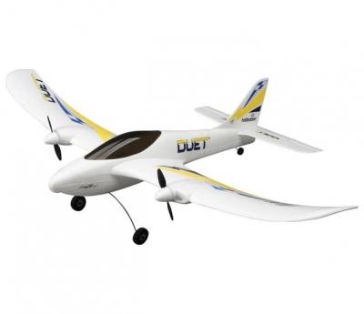 радиоуправляемый самолет hobbyzone duet 2.4g