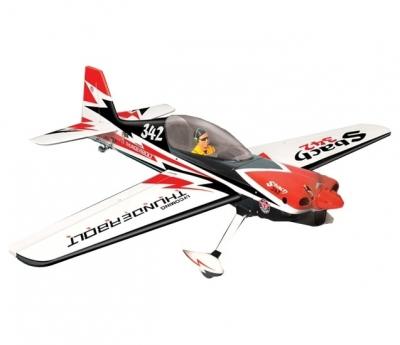 радиоуправляемый самолет phoenix model sbach 120 arf