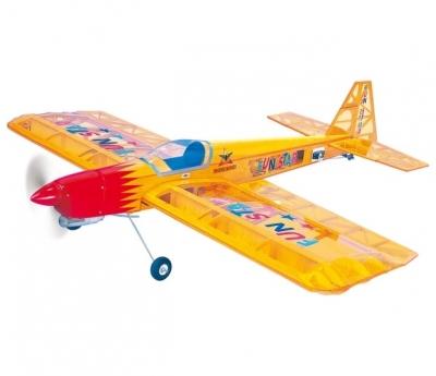 радиоуправляемый самолет phoenix model fun star arf