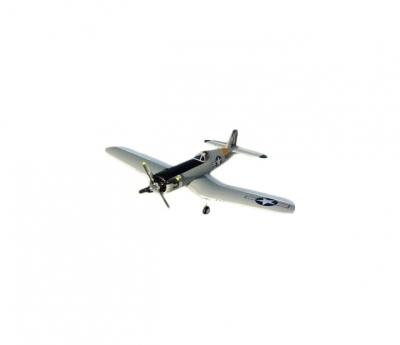 радиоуправляемый самолет a-rc f4u, pnp, grey