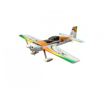 радиоуправляемый самолет hobbysky extra 300 (orange) 2.4ггц