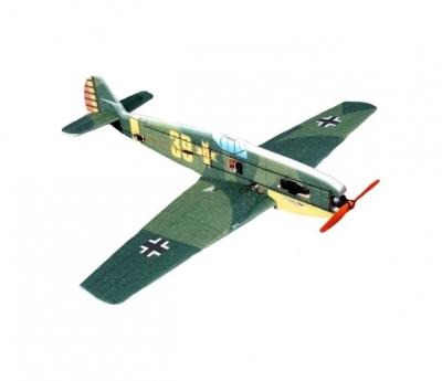 радиоуправляемый самолет techone bf109 epp combo