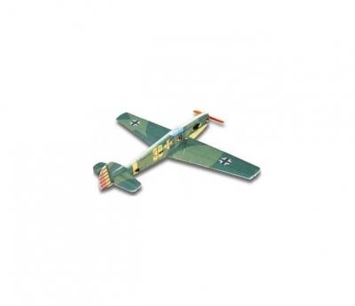 радиоуправляемый самолет techone bf-109 kit