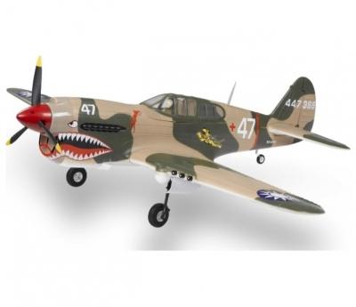 радиоуправляемый самолет phoenix model p40 kitty hawk .61-91|15cc