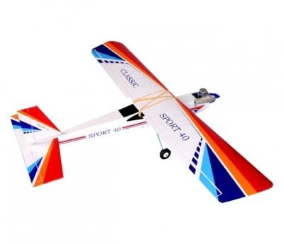 радиоуправляемый самолет phoenix model classic arf 2.4g